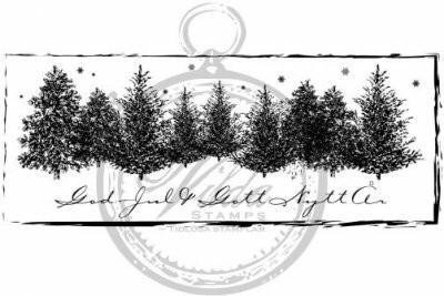 Vilda Stamps: God Jul & Gott Mutta År - leimasin