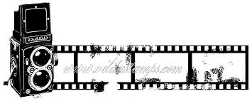 Vilda Stamps: Kamerastrip- leimasin