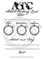 Vilda Stamps: Vintage ATC - leimasin