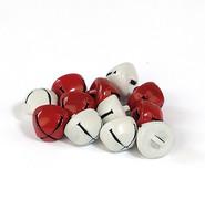 Kulkuset - punainen ja valkoinen 10mm/ 16 kpl