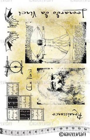Katzelkraft: Da Vinci Vitruve A5 - unmounted leimasinsetti