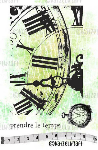 Katzelkraft: Clock A6 - unmounted leimasinsetti