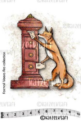 Katzelkraft: Veera Aro Foxmail - unmounted leimasin