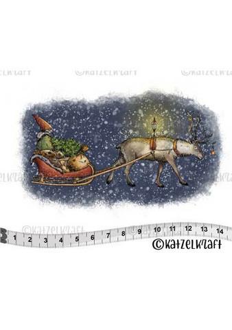 Katzelkraft: Veera Aro Reindeer sleigh - unmounted leimasin
