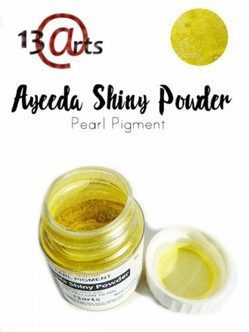 Ayeeda Shiny Powder: Magic Yellow - helmiäisjauhe