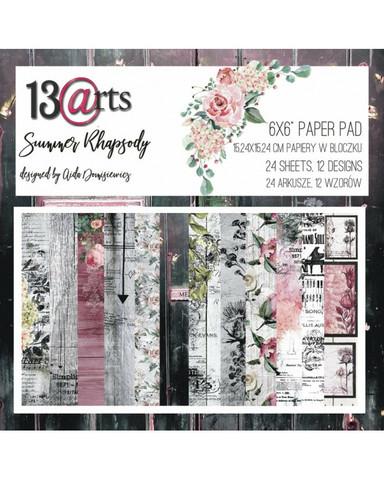 13arts: Summer Rhapsody 6x6 - paperikokoelma