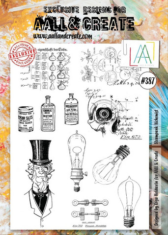 Aall & Create: Steampunk Alchemist  #387 - leimasinsetti