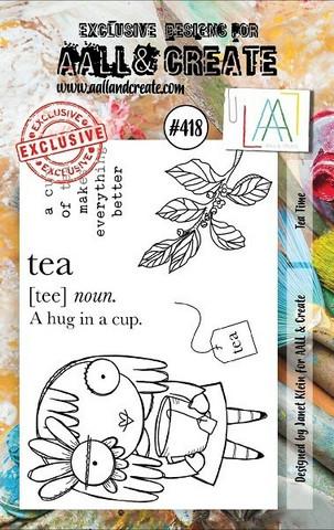 Aall & Create: Tea Time #418 - leimasinsetti