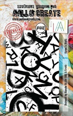 Aall & Create: Alphas & Digits  #440 - leimasinsetti
