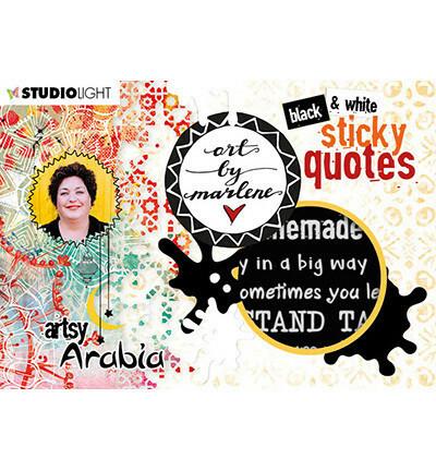 Studio Light Art by Marlene : Sticky Quotes #3  -tarrakirja