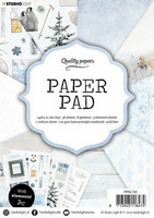 Studio Light A5  Paper Pad #152 - Winter
