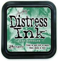 Distress Ink: Pine Needles -mustetyyny