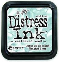 Distress Ink: Weathered Wood -mustetyyny