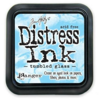 Distress Ink: Tumbled Glass -mustetyyny