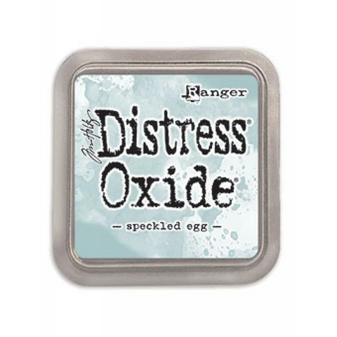 Distress Ink Oxide: Speckled Egg -mustetyyny