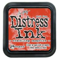 Distress Ink: Crackling Campfire -mustetyyny