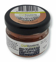 Craft Emotions Wax Paste: Metallic Copper 30 ml - metallivaha