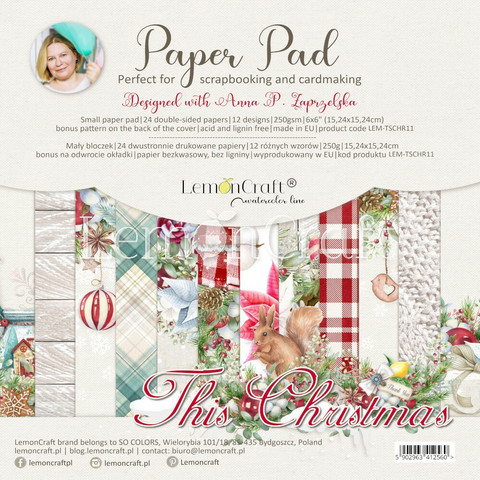 Lemoncraft: This Christmas 6x6 -paperilehtiö