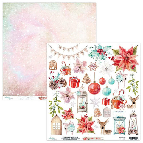 Mintay Papers: Cards & Elements Sheets #1 - Syksy/ Joulu (8 arkkia)