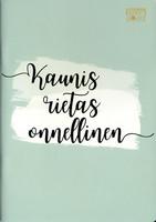 Karto: Suomilove - Kaunis rietas onnellinen A5 - vihko