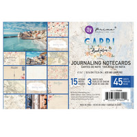 Prima Marketing: Capri 4x6 Journaling Cards