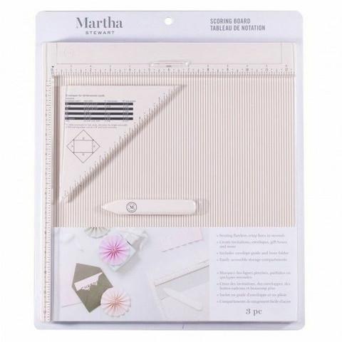 Martha Stewart Crafts Scoring Board 12x12 - nuuttauslauta tuumamitoituksella