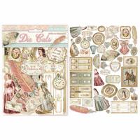 Stamperia: Princess Die Cuts -pahvileikekuviot