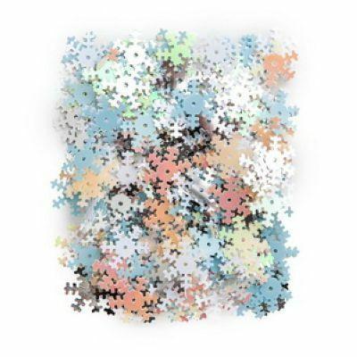 DP Craft Sequins - Snowflakes Mix / 10 g