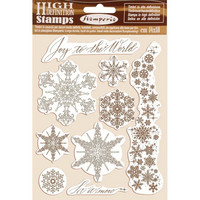 Stamperia: Snowflakes -leimasinsetti