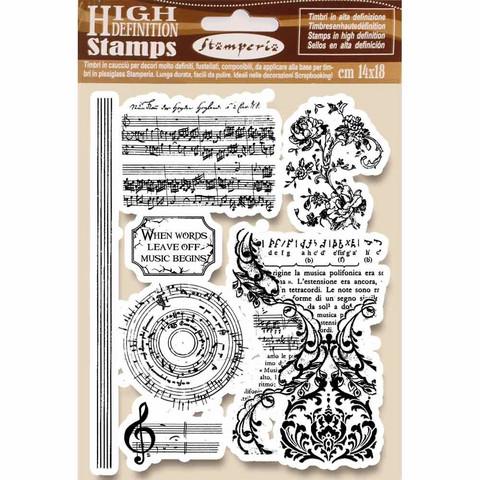 Stamperia: Music Beginning -leimasinsetti
