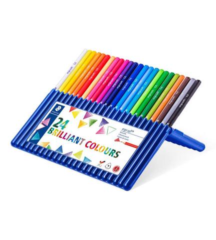 Staedtler Ergosoft 24 Coloured Pencils - puuvärikynäpakkaus