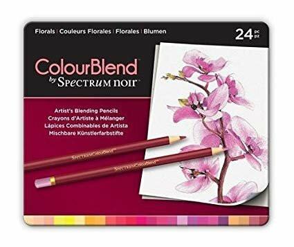 Spectrum Noir: Colourblend - Florals - puuvärikynäpakkaus