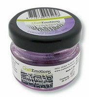 Craft Emotions Wax Paste: Colored Metallic Lilac 30 ml - metallivaha