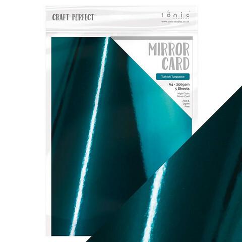 Craft Perfect: Turkish Turquoise A4 - peilikartonkipakkaus