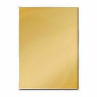 Craft Perfect: Honey Gold Satin Effect A4 - peilikartonkipakkaus