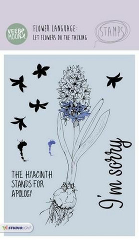 Studio Light: Flower Language - Hyacinth A6 - kirkas leimasinsetti