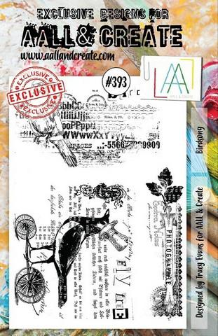 Aall & Create : Birdsong  #393 - leimasinsetti