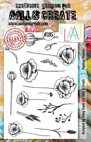 Aall & Create : Papaver Poppies #395 - leimasinsetti