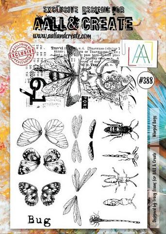 Aall & Create: Winged Bugs  #388 - leimasinsetti