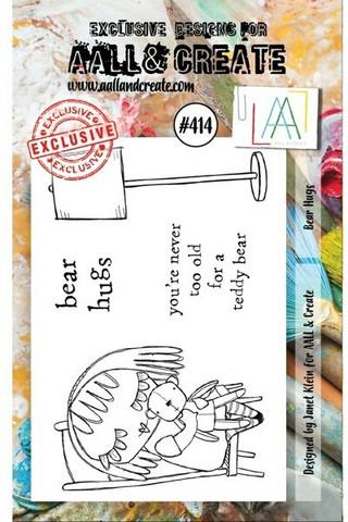 Aall & Create: Bear Hugs #414 - leimasinsetti