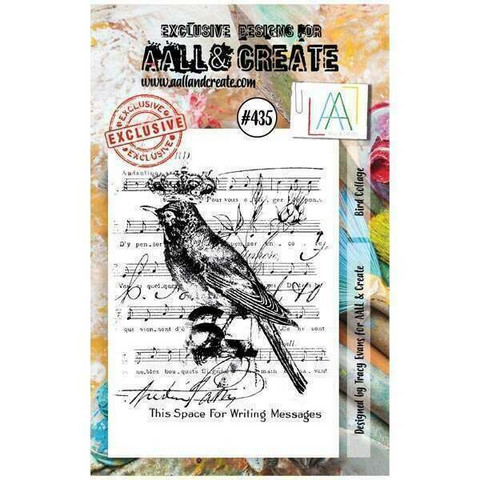 Aall & Create: Bird Collage #435 - leimasinsetti
