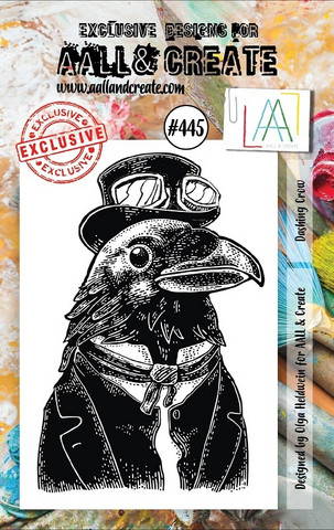 Aall & Create: Dashing Crow #445 - leimasinsetti