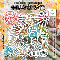 Aall & Create STENCIL Petals and Pods #117 - sabluuna