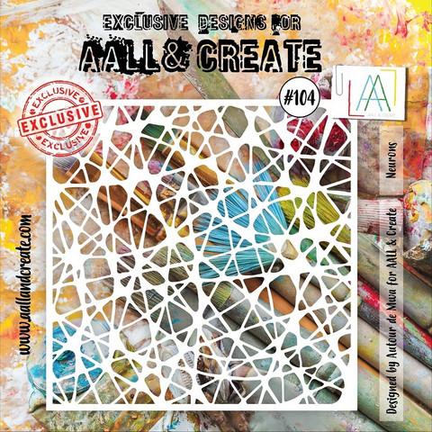 Aall & Create STENCIL Neurons #104 - sabluuna