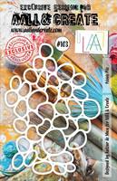 Aall & Create STENCIL  Pebble Pile  #103 - sabluuna
