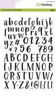 Craft Emotions: Handletter Typewriter Alphabet by Carla Kamphuis A5 - kirkas leimasinsetti