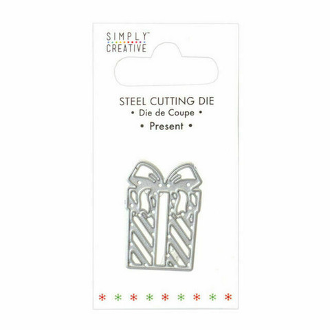 Simply Creative Christmas Die: Present