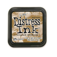 Distress Ink: Brushed Corduroy -mustetyyny