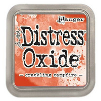 Distress Ink Oxide: Crackling Campfire -mustetyyny