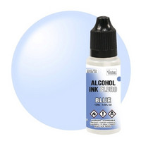 Couture Creations Alcohol Ink 12 ml :  Fluro Blue - alkoholimuste